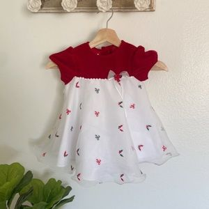 Little Girls' Ashley Ann Christmas Dress 24 Months